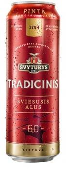 Beer Svyturys Tradicinis 6% 0.568L