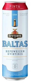 Beer Svyturys Baltas 5% 0.568L