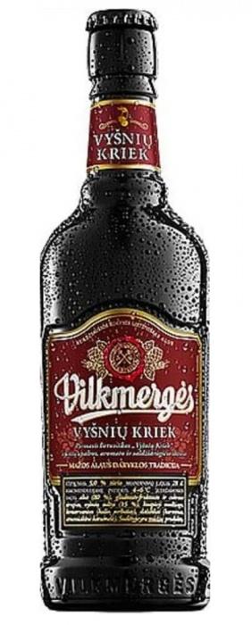 Beer Vilkmerges kriek 5% 0.41L bot