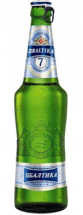 Beer BALTIKA N7 5,4% 0.5L