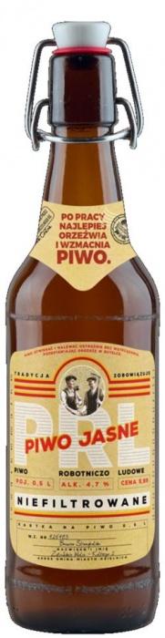 Beer PRL Unfiltered 4.7% 0.5L