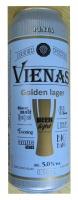 Beer Vienas Golden lager 5% 0.568L