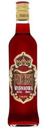 VODKA Polska wisniowa 36% 0.5L