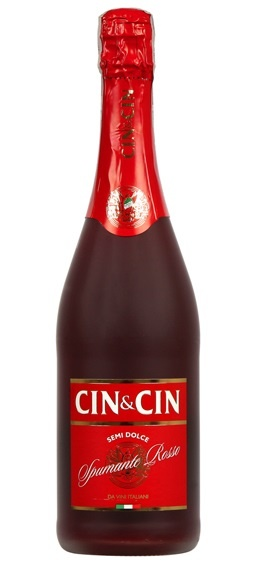 CIN CIN RED sparklin bottle 0.75L
