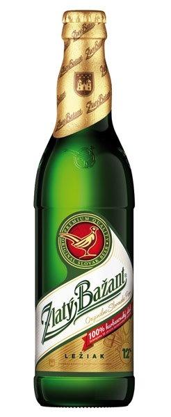 Beer Zlaty Bazan 0.5L bottle
