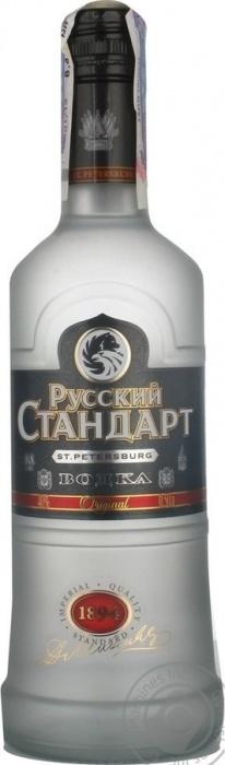 Vodka Russian standard 0.5L 40%