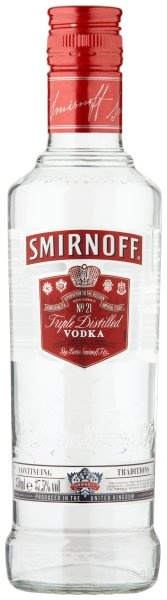 VODKA Smirnoff 0.35L 37.5%