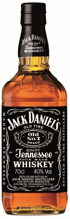 Jack Daniels black 40% 0.7L