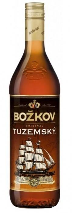 Bozkov Tuzemsky Rum 0.5L 37.5%