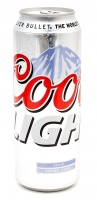 BEER Coors light 0.5L 4% can