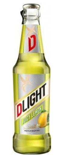 Beer D-LIGHT Lemon 2.9% 0.33L