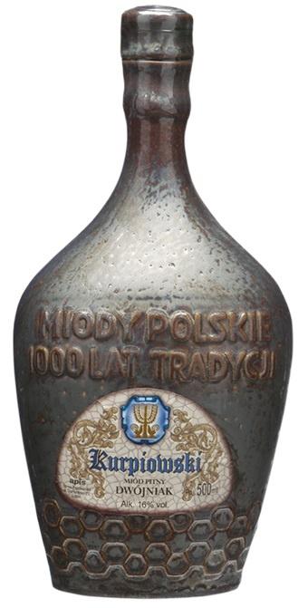 MIOD PITNY Dwojniak Kurpiowski kamionka 0.5L 16%