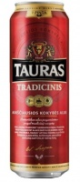 Beer Tauras Tradicinis 6% 0.568L can